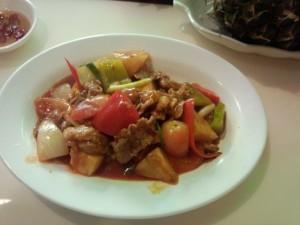 タイ料理です