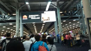 2016年 スワンナプーム国際空港