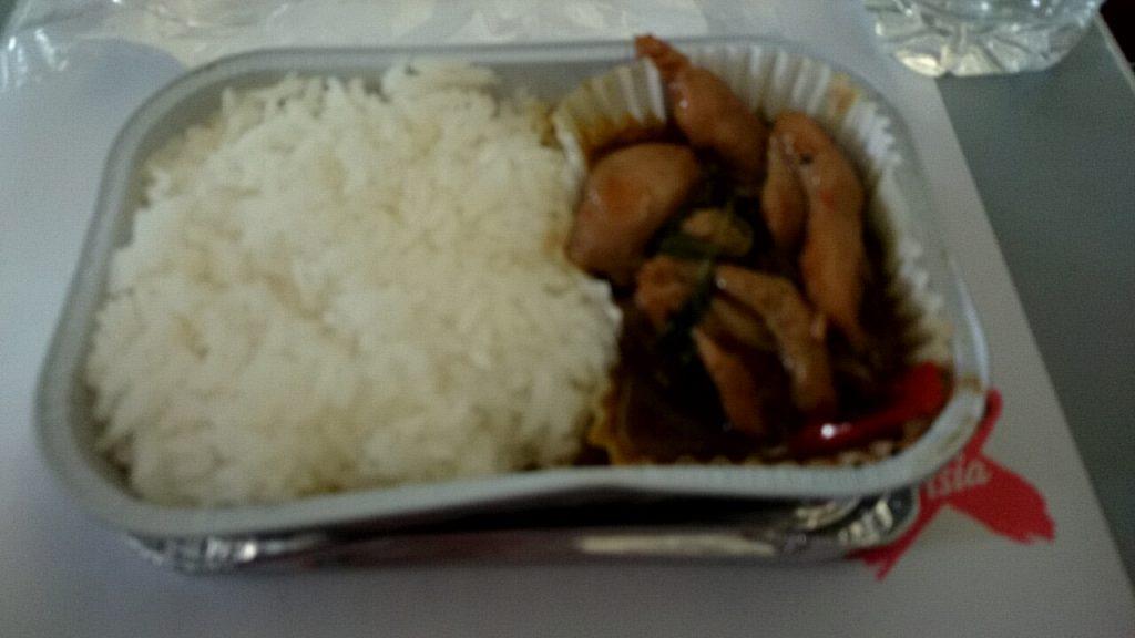 エアアジア機内食